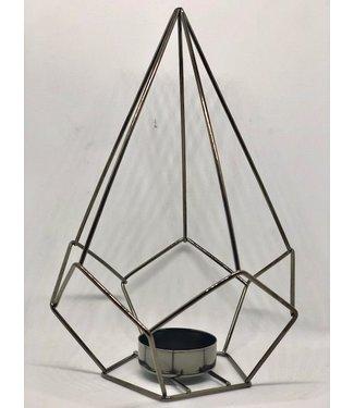 OPENMIND Teelichthalter Diamant