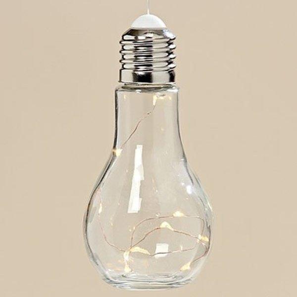 Glühbirne mit Lichterkette zum Aufhängen Batterie