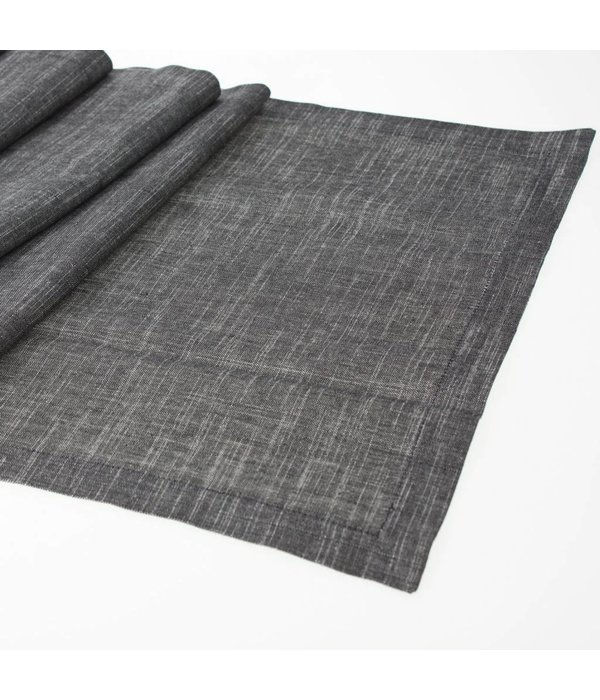 Tischläufer Schwarz Weiß tischläufer schwarz/weiß 40x150 cm - pyntshop