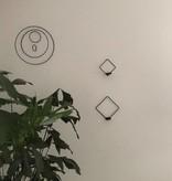 Créton Maison Drahtspiel Deko zum hängen schwarz