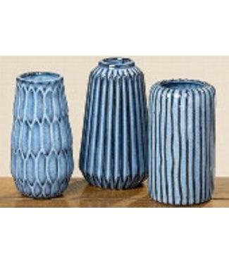 Boltze Vase Set  Aquarel 3 Stück