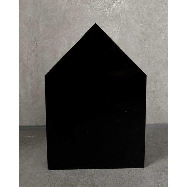Dekohaus schwarz
