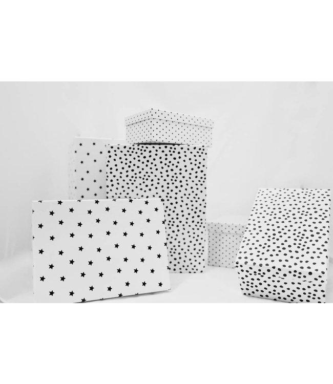 Boltze Geschenkboxen 6er Set weiß Bullerbü
