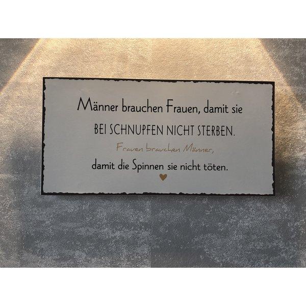 """Magnet Metallschild """"Frauen"""""""