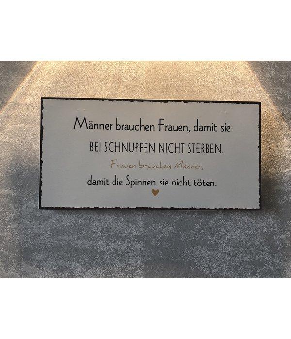 "Boltze Magnet Metallschild ""Frauen"""