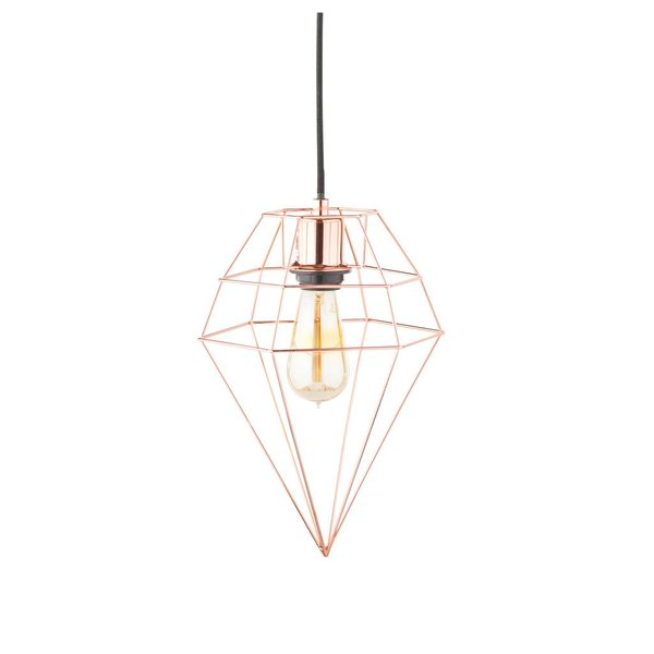 Diamond Loftlampe Kupfer