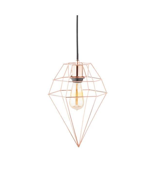 Créton Maison Diamond Loftlampe Kupfer