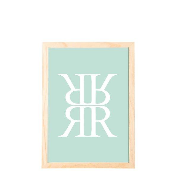 Bilderrahmen Kiefer RRRR - 21x30 cm