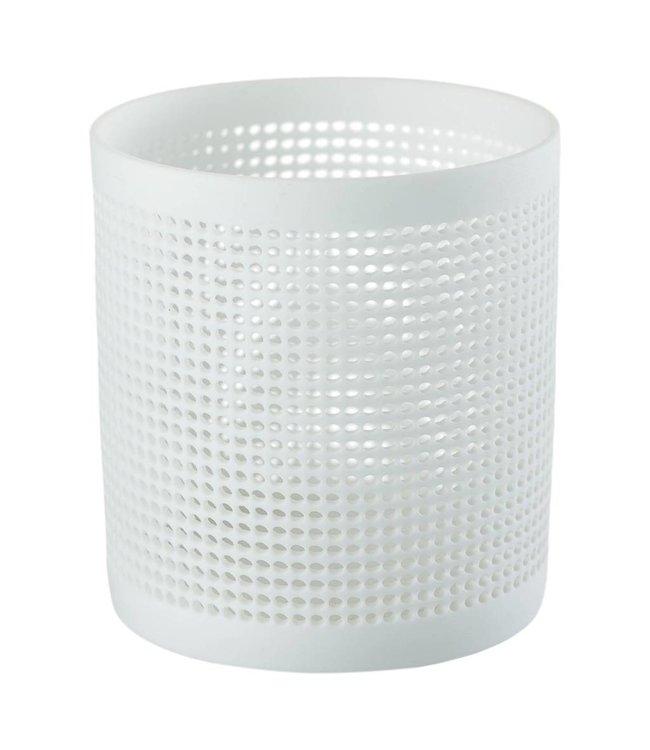 Créton Maison Teelichthalter NORA weiß, 2er Set