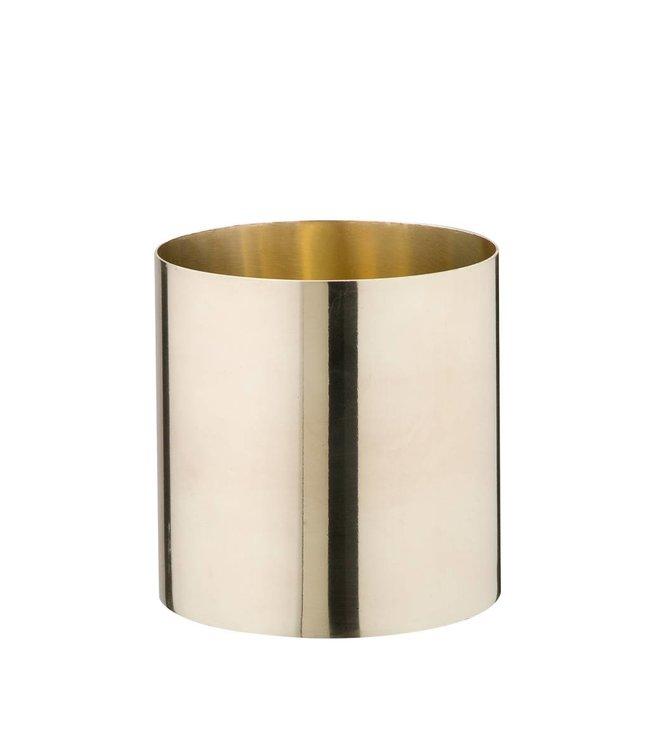 Créton Maison Messing Vase/Gefäß klein