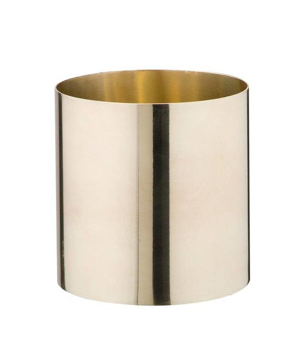 Créton Maison Messing Vase/Gefäß groß