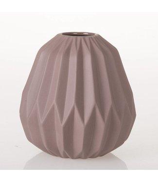 HomeartByBahne Vase Origami - Altrosa