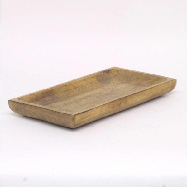 Holzplatte - Rechteckig - 38 cm