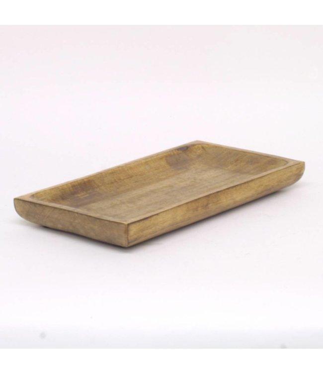 HomeartByBahne Holzplatte - Rechteckig - 38 cm