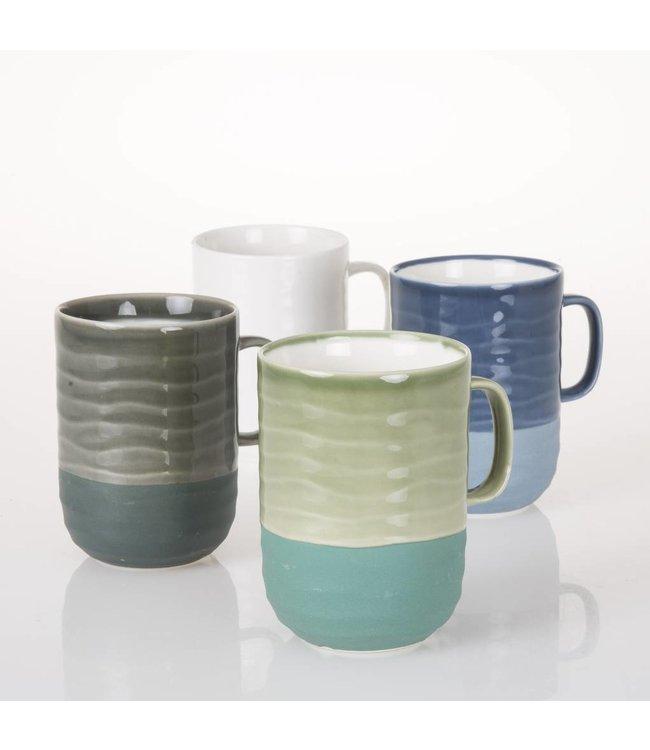 HomeartByBahne Tasse 4'er Set - Retro - Mehrfarbig