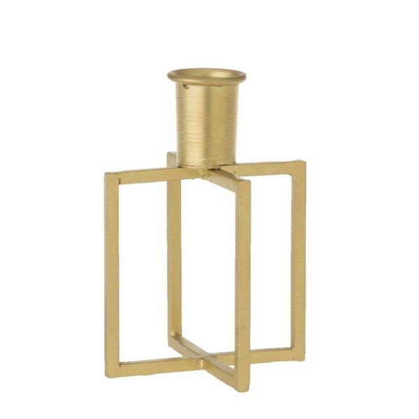 Kerzenhalter Draht - Ø 13 cm - Messing