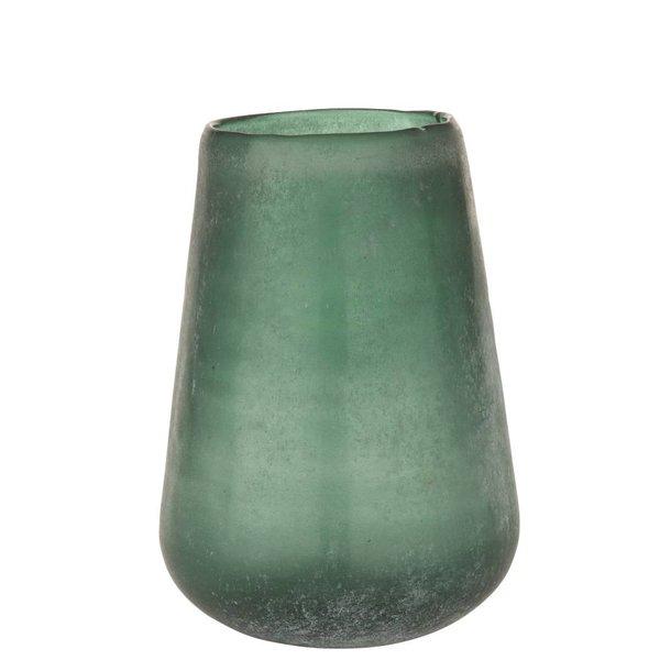 Vase Frosted - Grün
