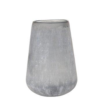 HomeartByBahne Vase Frosted - Blau