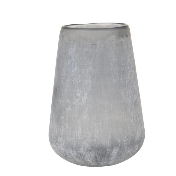 Vase Frosted - Blau