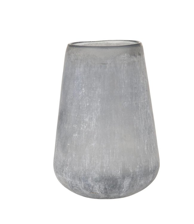 HomeartByBahne Vase Frosted - Blau