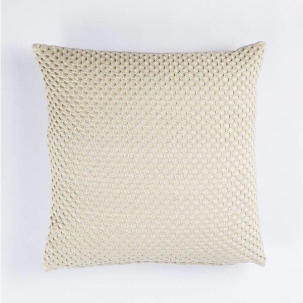 Kissen - Viereckig 45x45 - Kreis Muster - Hellgrün