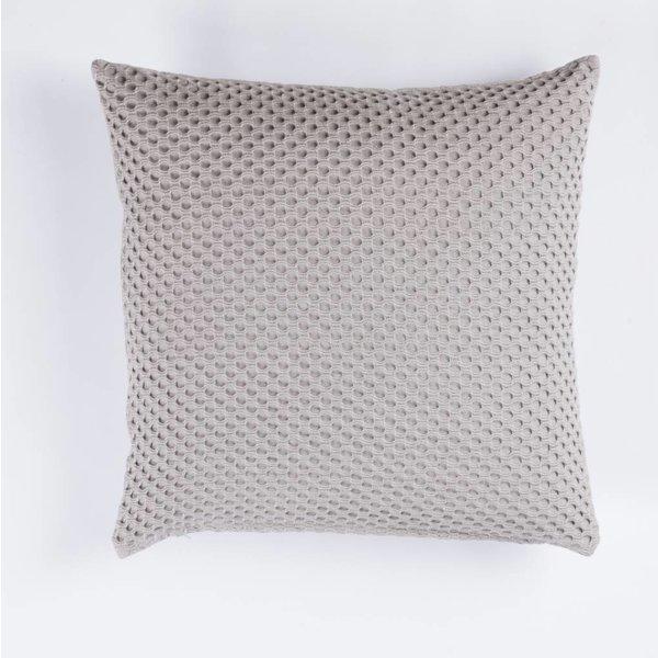 Kissen - Viereckig 45x45 - Kreis Muster - Grau