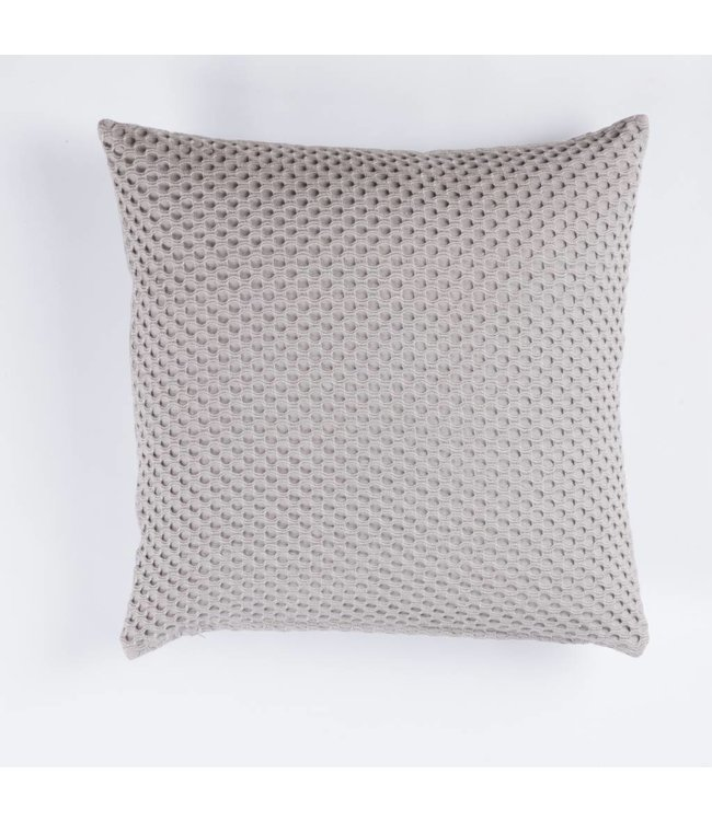 HomeartByBahne Kissen - Viereckig 45x45 - Kreis Muster - Grau
