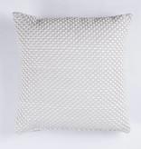 HomeartByBahne Kissen - Viereckig 45x45 - Kreis Muster - Altweiss