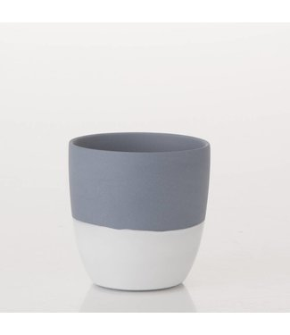 HomeartByBahne Teelicht Blau/Weiss