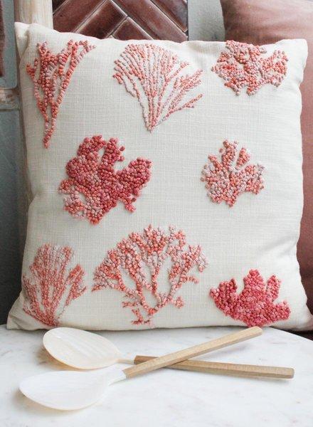 Weldaad Coral Cushion