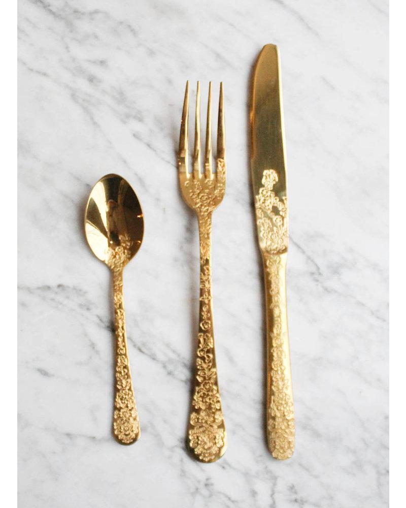 RicebyRice Gold cutlery