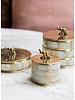 Muja Juma jewelry box with elephant on lid