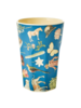 RicebyRice Large Cup Multi Blue