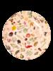RicebyRice Dinner plate multi pink