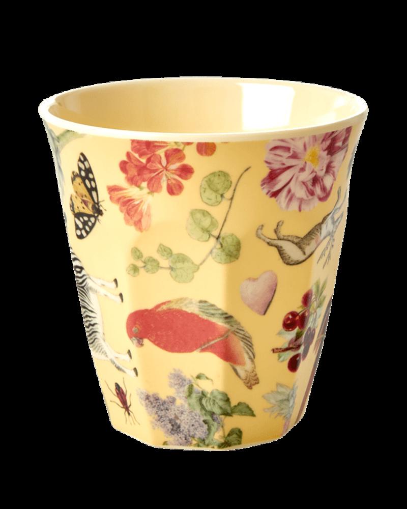 RicebyRice Kleine beker multi geel
