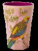 RicebyRice Grote beker Vogel roze