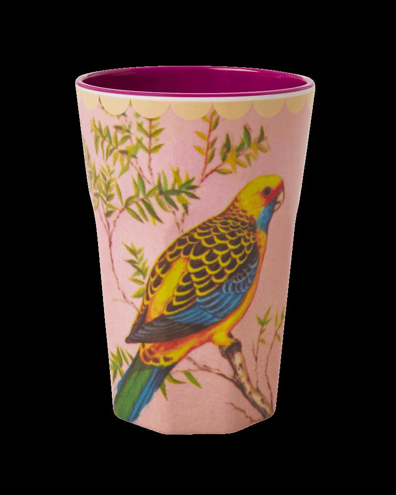 RicebyRice Große Tasse Vogel hellblau - Copy