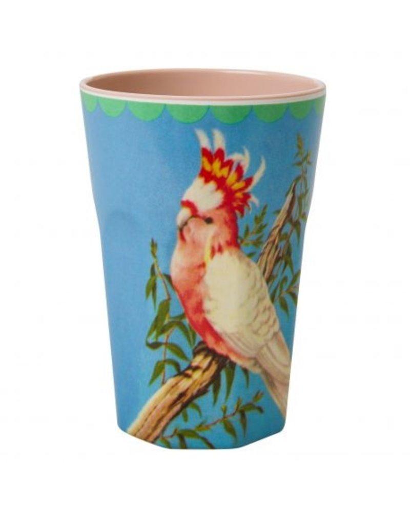 RicebyRice Große Tasse Vogel hellblau - Copy - Copy