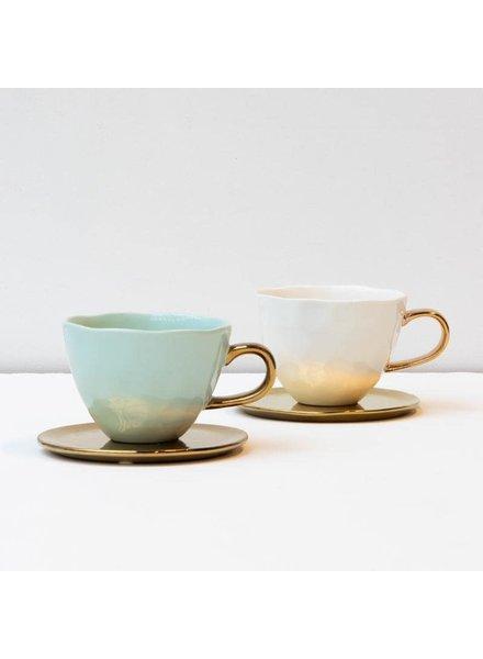 UNC Celadon mug