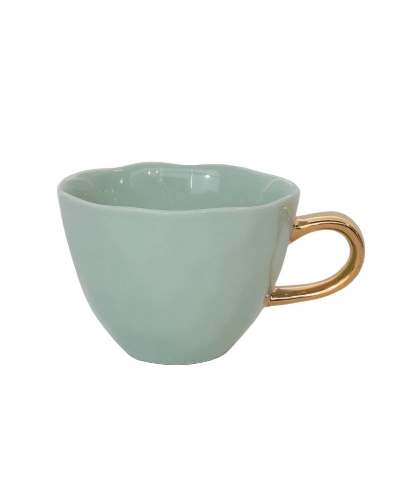 UNC Guten Morgen Becher Celadon