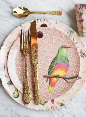 A birdie on your plate