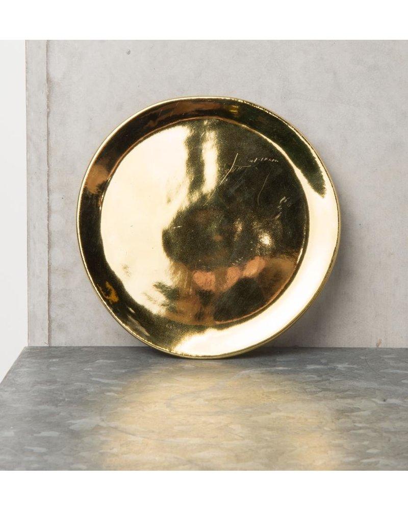 Ein goldener und grüner Look für jeden Tisch