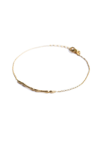 Muja Juma Bracelet band gold plated