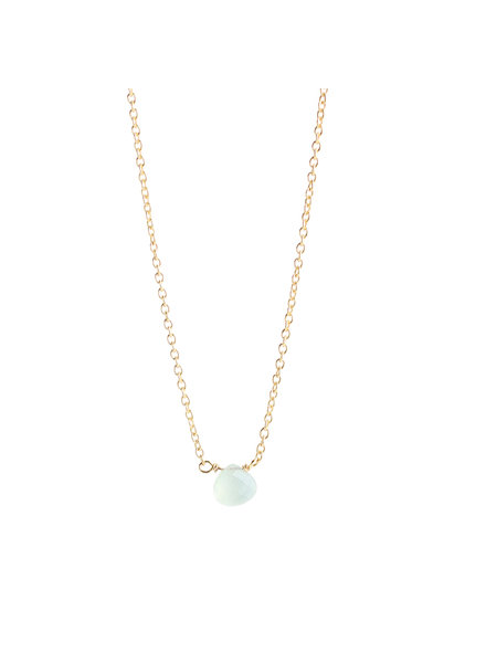 Muja Juma Necklace teardrop prenite gold plated