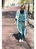 Muja Juma Kimono mit Kranabdruck