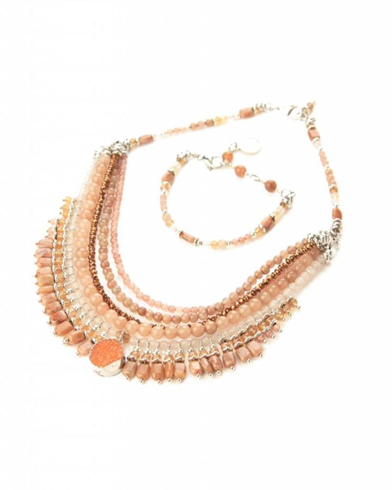 Collier crown jewel