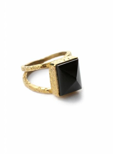 exoal Black Onyx ring - Copy