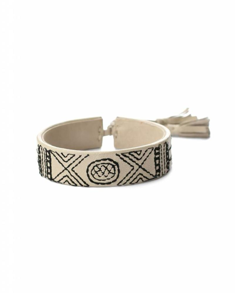exoal hand-made Nappa leather bracelet