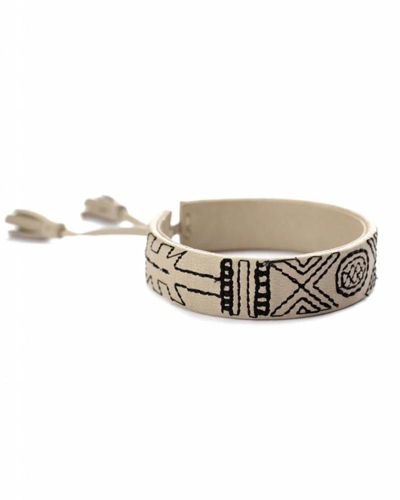 exoal handgemachte Armband Nappaleder