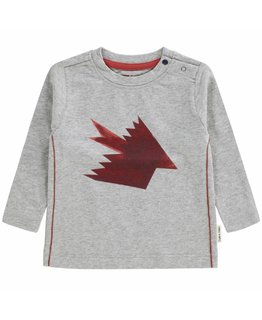 Tumble `n Dry Tumble 'N Dry - Jesper ZERO Bo Shirt  light grey melange